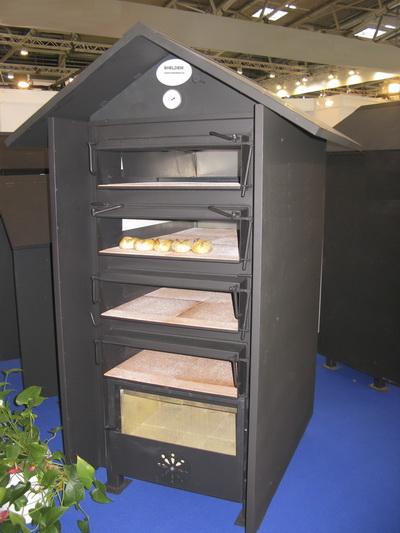 Печь на дровах для пекарни