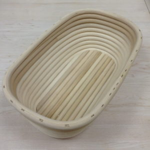 Форма для расстойки хлеба овальная 220х130х80 мм
