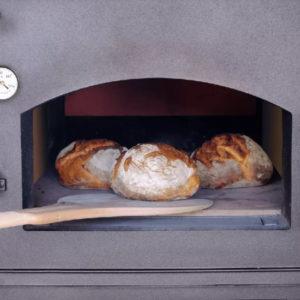 Хлеб в дровяной печи Habo