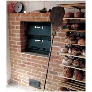 Дровяная печь для пекарни, Модель 4