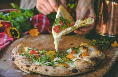 Пицца из дровяной печи Vulcano