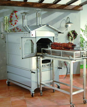 Дровяная печь для пекарни Gusto